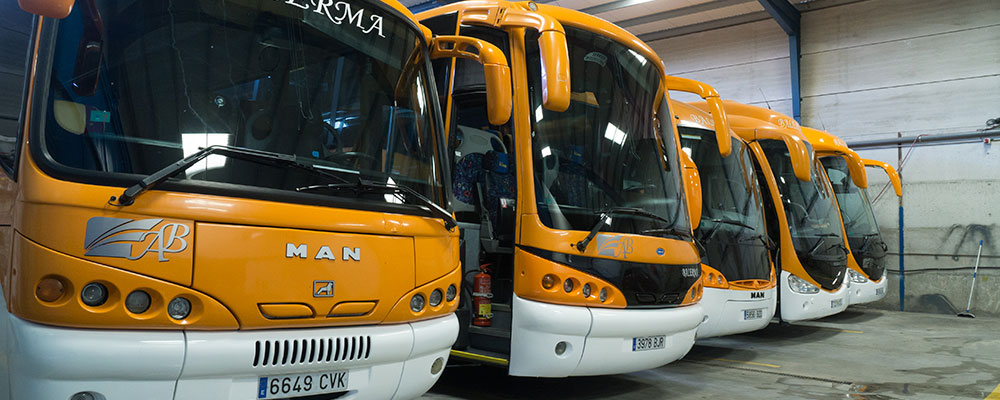 Autocares y microbuses